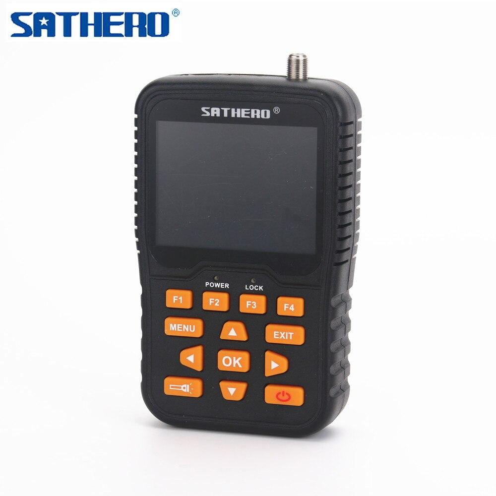 Portable Digital Satellite Finder Meter,3.5inch Hdlcd Screen, Auto Scan,built-in Li-ion Battery