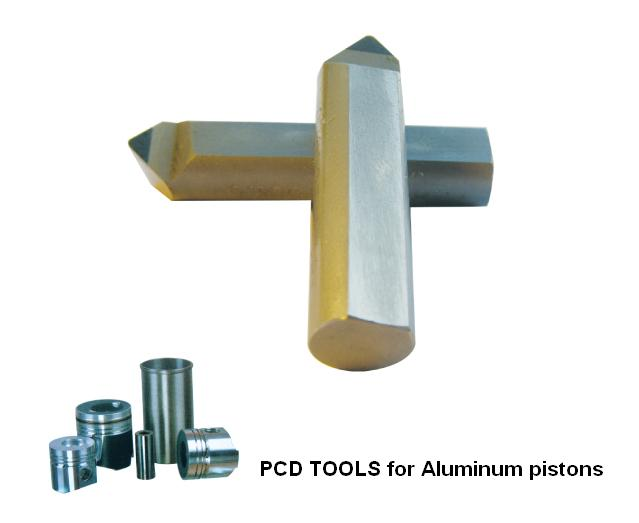 CBN Grooving inserts,PCD pistons cutter for Aluminum pistons<br>