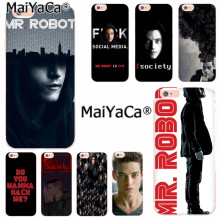 Buy MaiYaCa Mr Robot Luxury High-end phone Accessories Case iPhone 8 7 6 6S Plus X 10 5 5S SE 5C 4 4S Coque Shell for $1.36 in AliExpress store