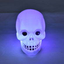 New creative  high quality Halloween Party Lantern Decoration Props LED Light skull pattern