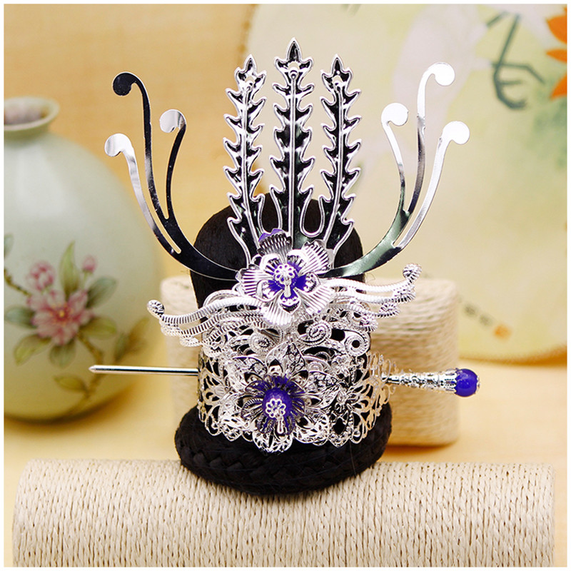 Useful Ancient Hair Ornaments Vintage Hair Accessories Vintage Hair Decoration Hair Clip Cap Crown Warrior Cosplay Accessories Boys Costume Accessories