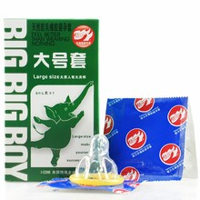 Large Size Big XXL Condom 10PCS Condoms For Big Cock Horny Men Women Adult Game Latex Thin Slim Sex Products(China)