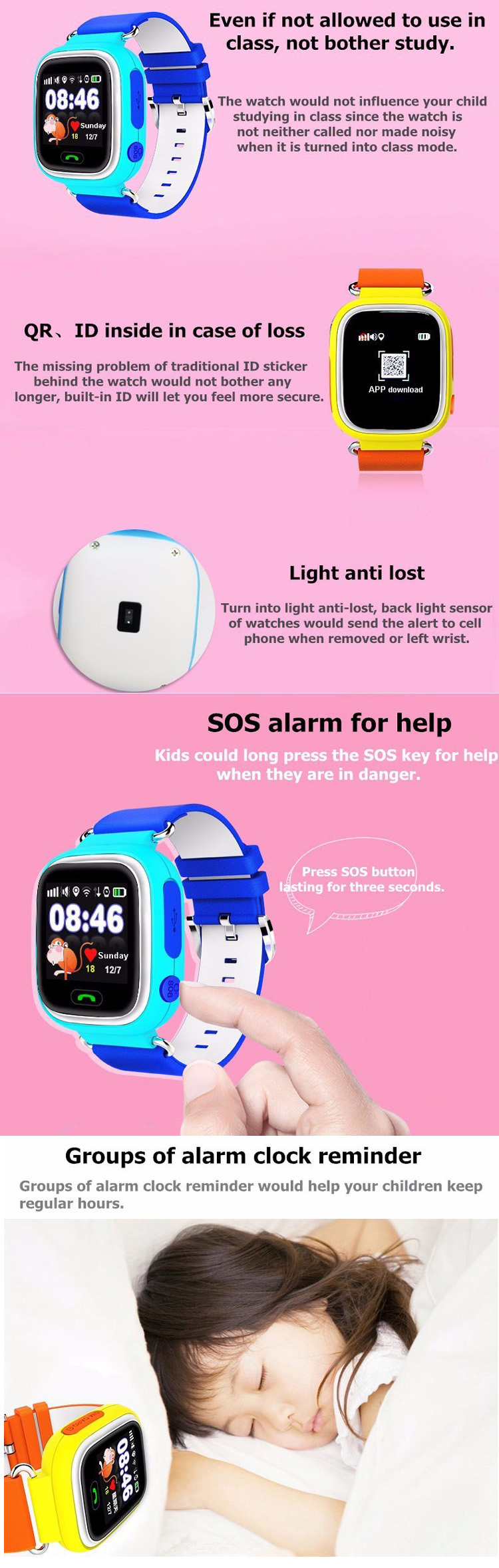 Kids Smart Watch (3)