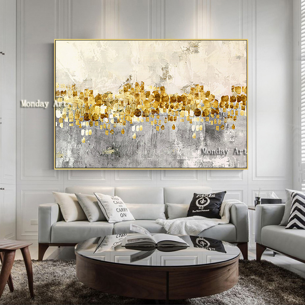 Canvas-painting-acrylic-gold-art-modern-abstract-painting-quadro-cuadros-decoracion-Wall-art-Pictures-for-living (3)