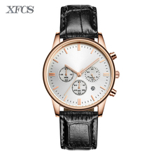XFCS 2017 waterproof watch for man quartz automatic wristwatch mens famous brand watches topmerk tag original clock cheap