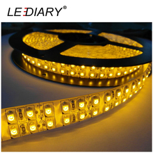 LEDIARY 600 LED Strip Light Double Row 5050 5M 12V Non-Waterproof Christmas/Party Decoration Lights RGB Strip Christmas Light