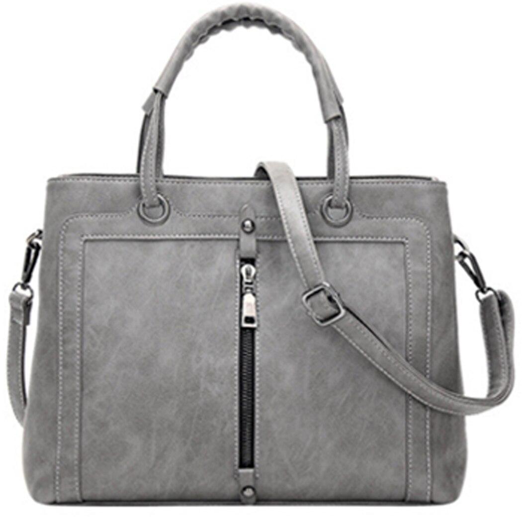 MCvilla PU leather Women Handbags 2017 Fashion Brand shoulder bag women messager bags vintage zipper women ladies Totes bag   <br><br>Aliexpress