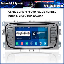 Android Car DVD For Ford Focus S-Max Mondeo GPS Navigation Multi-touch Capacitive screen,1024*600 high resolution