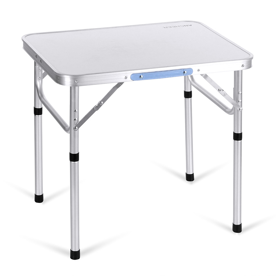 ANCHEER Portable Folding Table Outdoor Camping Aluminum Table Garden Pinic Desk(China (Mainland))