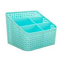 5 Grids Large Capacity Cosmetic Organizer Box Plastic Makeup Cosmetics display Storage Box Desk Table Oragnizer Case