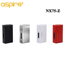 Original Aspire NX75-Z TC/VW Box Mod NX75 Zinc Alloy With all-new CFBP Feature Best Match with Aspire Atlantis EVO Tank(China)