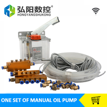 Manual Oil Pump for CNC Router Machine Oil Lubrication system(China)