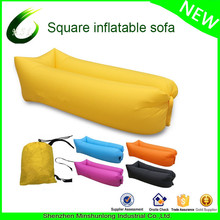 new air filling Inflatable Air Sofa hangout laybag For Camping Traving one mouth opening lazy bag sofa inflatable sleeping bag
