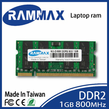 New sealed  SO-DIMM 800Mhz PC2-6400 Laptop ddr2 Memory Ram 1GB 200-pin/CL6 highly match with all brand motherboards of Notebook