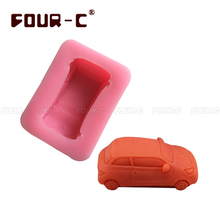 car cake mold soap mold 3d silicone cake mold fondant cake tools DIY silicone mold cute car decorating tools