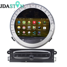 JDASTON Android Car CD DVD Player For BMW Mini Cooper 2010-2014 Car GPS Navigation multimedia Audio Radio 1080P Map USB Video(China)