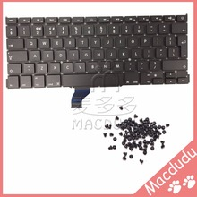 "New UK Keyboard + keyboard screws For MacBook Pro Retina 13"" A1502 2013 ME864LL/A ME866LL/A *Verified Supplier*(China)"