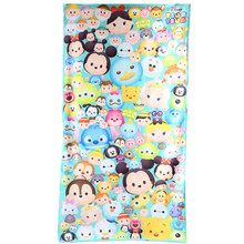 2016 New TSUM TSUM children beach towel cotton bath water absorption and durable bath towel Free Shpping