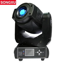 SONGXU 90W Gobo LED Moving Head Light 3 Face Prism DMX Controller 6/16 Channel for Stage Theater Disco Nightclub Party/SX-MH90(China)