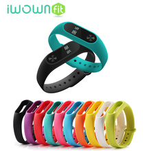 For Original Xiaomi 2 MI Band 2 Smart Wristbands Colorful Silicone Wrist Strap Replacement Belt Bracelet Strap