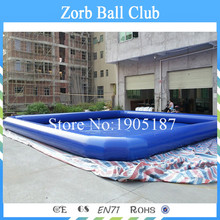 Free Shipping 8x8m Giant Inflatable Pool, Kids Swimming Pool, Water Zorb Balls Pool,PVC Pool , Large Inflatable Pool for Sale