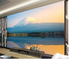3d wallpaper for room Mount Fuji scenery background wall custom photo wallpaper 3d wallpaper 3d modern