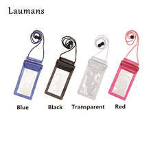 Laumans outdoor travel 100% Sealed Waterproof Bag Pouch Phone Cases for Samsung Galaxy S5/S6/S7 for iphone for xiaomi for Huawei