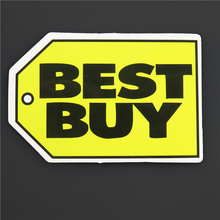 """BEST BUY""  Tag Single Tide Brand Sticker Shopping DIY Labels Waterproof Decals Paper Posted Pvc Stickers A-23"
