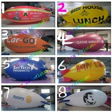 Free Shipping 5m/6m/8m Long customize giant Inflatable blimp Airship Zeppelin inflatable Advertising balloon(China)
