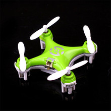 High Quqlity Cheerson CX-10 Mini 2.4G 4CH 6 Axis LED RC Quadcopter Airplane Gift For Children Toys Wholesale Free Shipping(China)