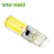 6PCS 220V 480lm Energy Saving LED Lamp bulb Replace 3W 5W 7W 9W Fluorescent Light SMD G9 2809-COB LEDs lampada led