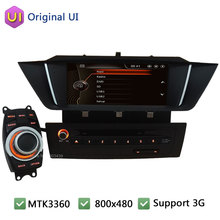 "9"" Touch Capacitive Screen FM BT Car DVD Multimedia Player Radio Screen Audio Stereo PC Support 3G For BMW X1 E84 2009-2014"