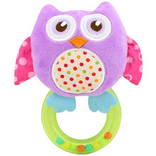 Rattles Kids Toys Chidren's  Baby Toys stuffed animal plush toys baby teether hanging strollers bb sound toys gift
