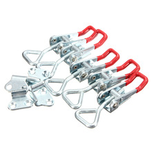 5pcs Adjustable Quick Holding Capacity Latch Hand Tool Toggle Clamp 100KG/220lbs Galvanization Adjustable Fixture