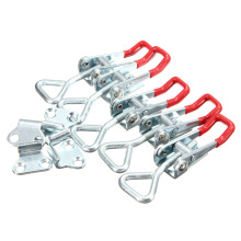 5pcs Adjustable Quick Holding Capacity Latch Hand Tool Toggle Clamp 100KG/220lbs Galvanization Adjustable Fixture(China)