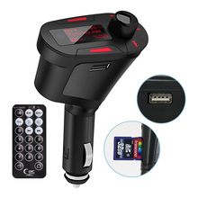 Great! FM Transmitter USB Charge Red Color Digital MP3 Car Kit Music Radio For Universal Car