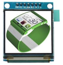 1.5 inch 7PIN Full Color OLED module Display Screen SSD1351 Drive IC 128(RGB)*128 SPI Interface for 51 STM32(China)