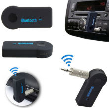 Bluetooth Music Audio 3.5mm Stereo Radio Receiver Wireless FM transmitter Handsfree Car kit mp3 player for Car AUX Home Speaker
