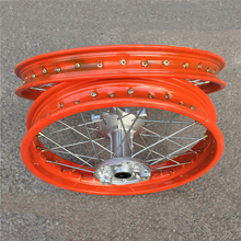 SHINERAY X-TRICKER XY250GY-10 Steel Dirt Bike 19/16 Inch 2.15x16 Front Rear Motorcycle Wheel Rims(China)