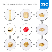 JJC 2PCS Metal Soft Release Button Shutter Flat Convex Concave Camera Accessories for Fujifilm Canon Nikon Sony Olympus(China)