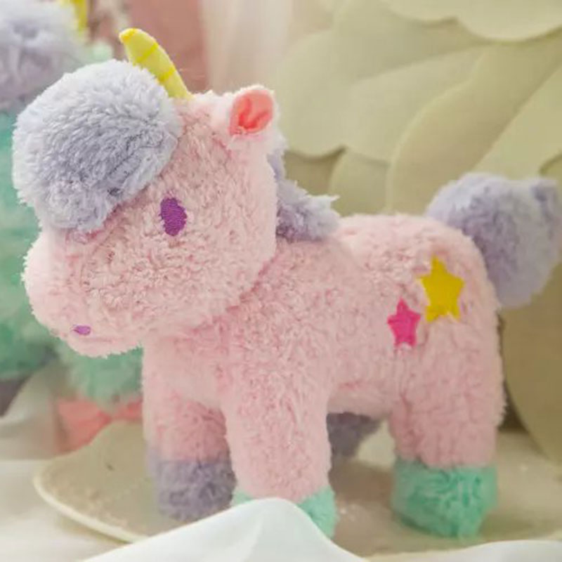 25cm Unicorn Plush Toy  Animal Stuffed Plush Doll Kids Toy  Cute Unicorn Doll Figure Fluffy Gift For Children Free Shipping<br><br>Aliexpress