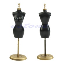 M89CNew 1pc Clothes Gown Display Mannequin Model Stand for Doll Holder Dress Form