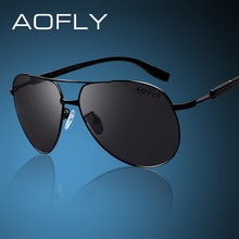 AOFLY Brand HD Polarized Sunglasses Men Male Polaroid Sun Glasses Brand Design Driving Sunglasses Goggle Classic Eyewear