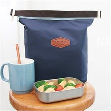 Hot Selling Thermal Cooler Lnsulated Waterproof Lunch Carry Storage Picnic Bag Pouch Lunch Bag Free Shipping