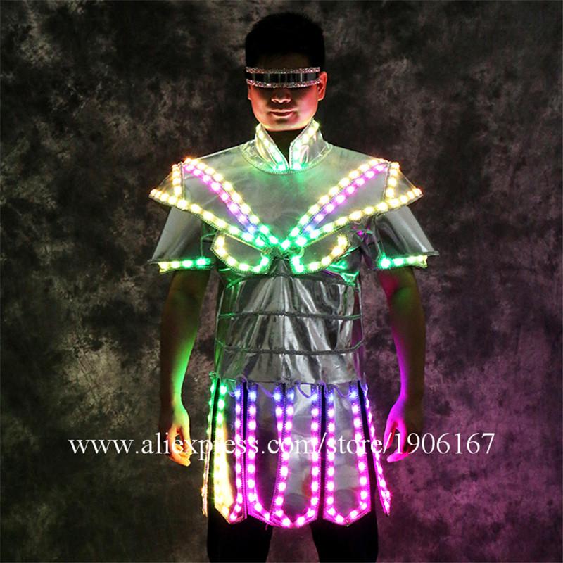 Led luminous stage dance wear7