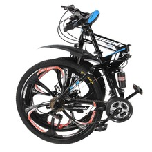 "Land Rover paragraph mountain bike 21 Speeds 26"" aluminum alloy folding variable speed cycling double vibration damping brakes(China)"