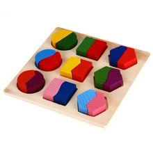 Wooden Puzzle Games Educational Toy for Baby Child