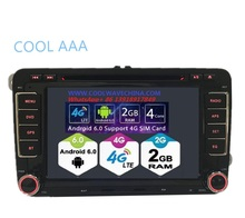 RNS510 VW radio android 6.0 HD 1024X600 Golf 5 6 Jetta Mk5 Mk6 Passat CC Tiguan polo Eos 3G 4G  wifi bluetooth red and green