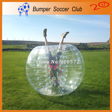 Free shipping ! Factory Customize ! 1.0mm TPU Inflatable Bumper Ball,1.7m Human Hamster Ball TPU Inflatable Ball Suit For Sale