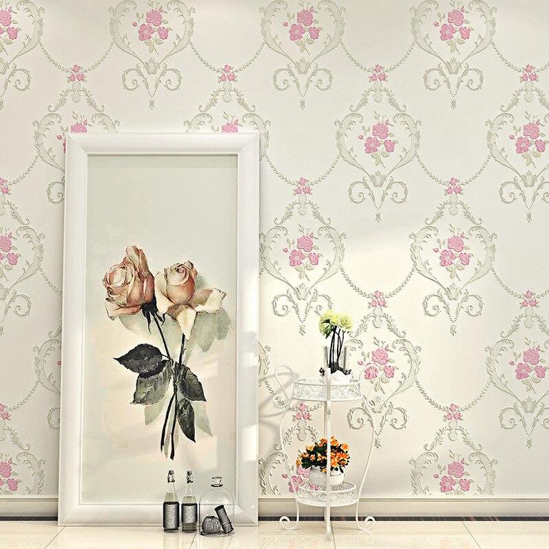 beibehang garden flower Wallpaper For Walls 3 D Bedroom Living Room Home Decor 3D Mural Wall Paper Rolls papel de parede adesivo<br>